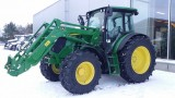 Model specific KHP air-conditioning installed in a John Deere 6090 MC tractor.