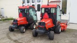 KHP air conditionings installed in a Kubota F 3890 lawn mowers.